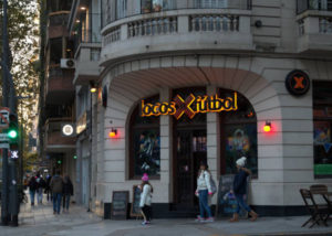 "Cafe Bar ""Locos x fútbol"" Las Heras and Uriburu street, Recoleta"