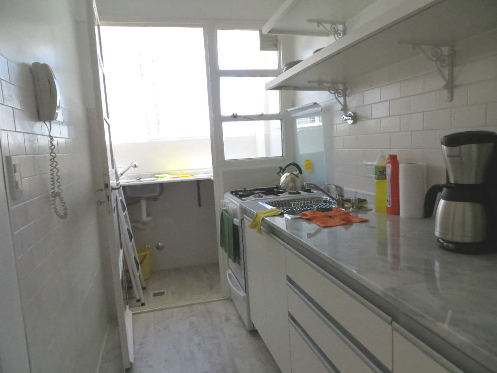 Kitchen window and laundry