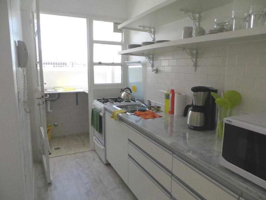 Sunny kitchen and laundry