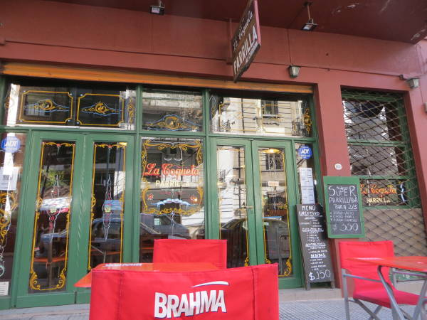 Uriburu street Parrilla / Grill