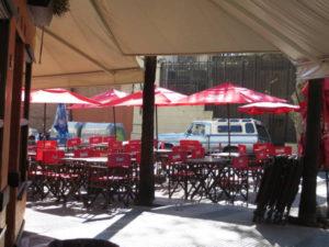 Romario restaurant Vicente Lopez and Uriburu streets