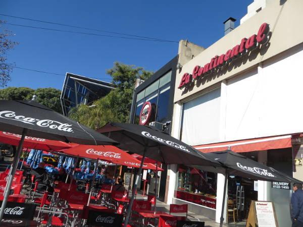 La Continental Pizaa on Vicente Lopez street