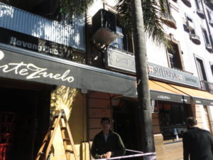 Portezuelo and Silver Pub, on Vicente Lopez street.