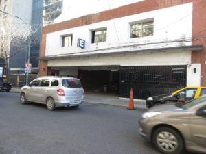 First car parking / garage on Azcuenaga street