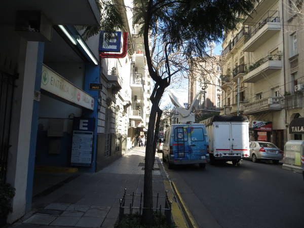 Second car parking / garage on Azcuenaga street