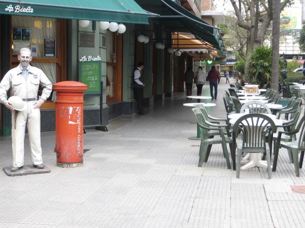 La Biela restaurant entrance, Recoleta