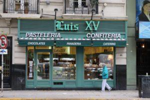 Luis XV bakery, Av. Gral. Las Heras 2063