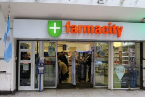 Farmacity drugstore pharmacy near the apartment