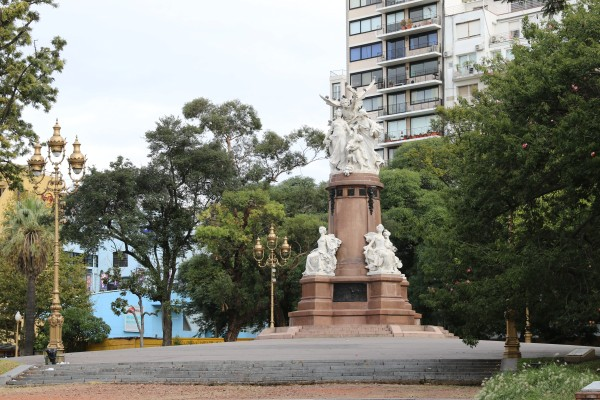 French Monument to Argentina on Plaza Francia