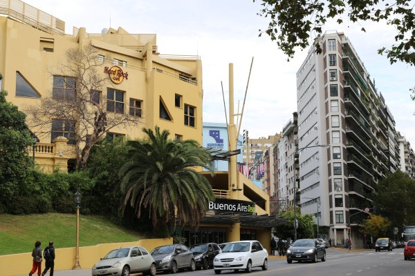 Buenos Aires Design seen from Plaza Francia